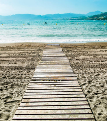 Accessible beaches on the Costa Brava