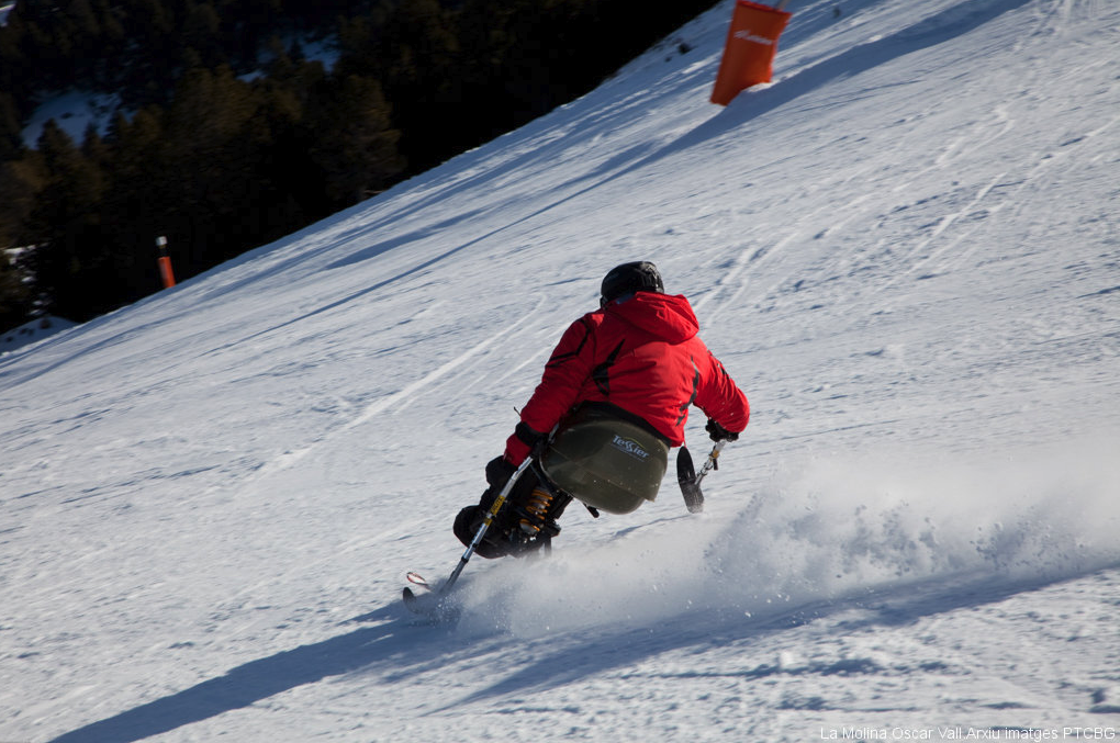 Inclusive skiing at La Molina